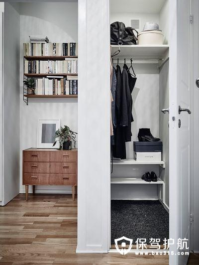 北欧风格玄关收纳柜装修效果图