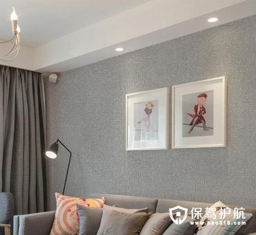 客厅墙布怎么选