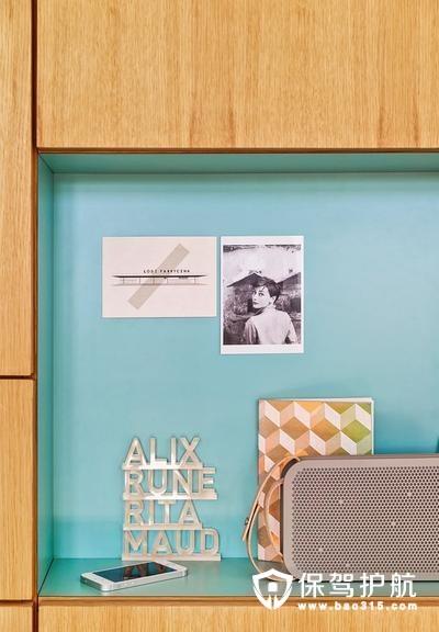 清新又灵动欧式风格储物柜装修效果图