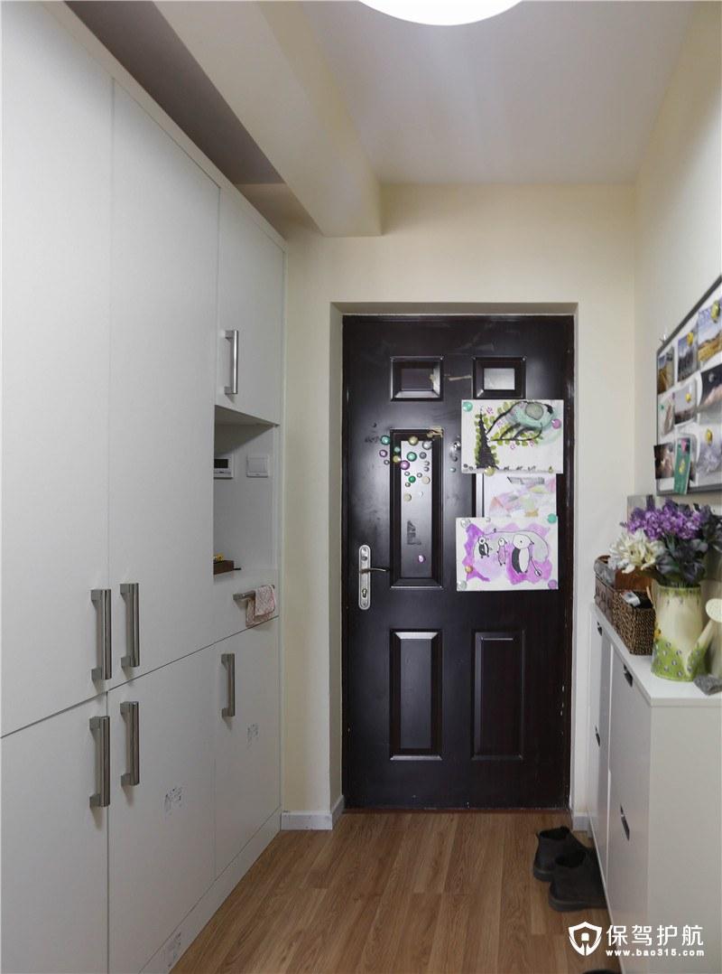宜家风格玄关收纳柜装修效果图