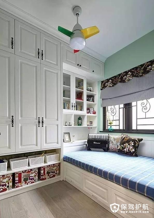 简美风格客房装修效果图