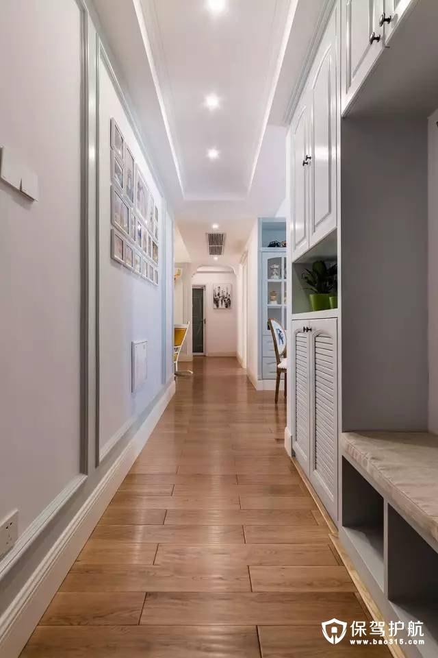 美式风格玄关走廊装修效果图