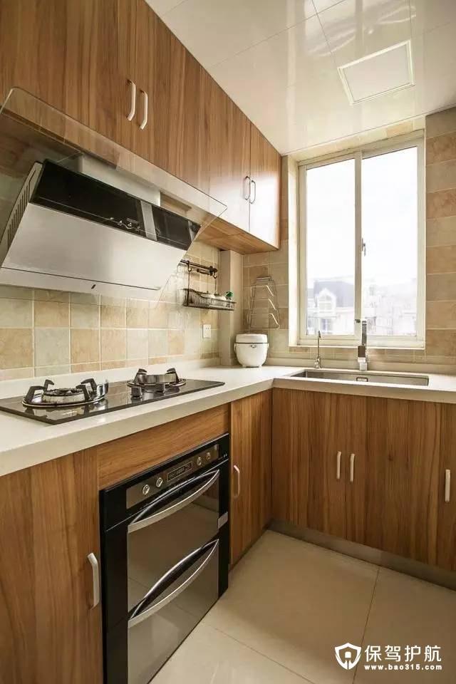 简单干净北欧风格厨房装修效果图
