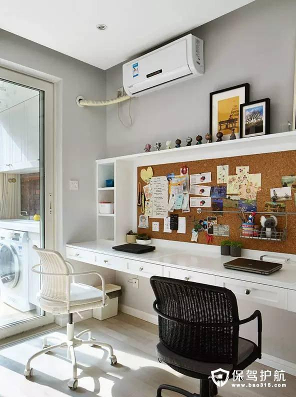 北欧风格小型的办公休闲区装修效果图