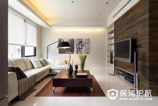 不同风格的家装电视背景墙设计