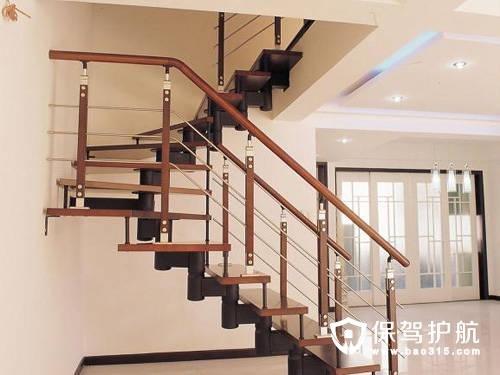 木楼梯装修效果图设计_家装小助手_新浪博客