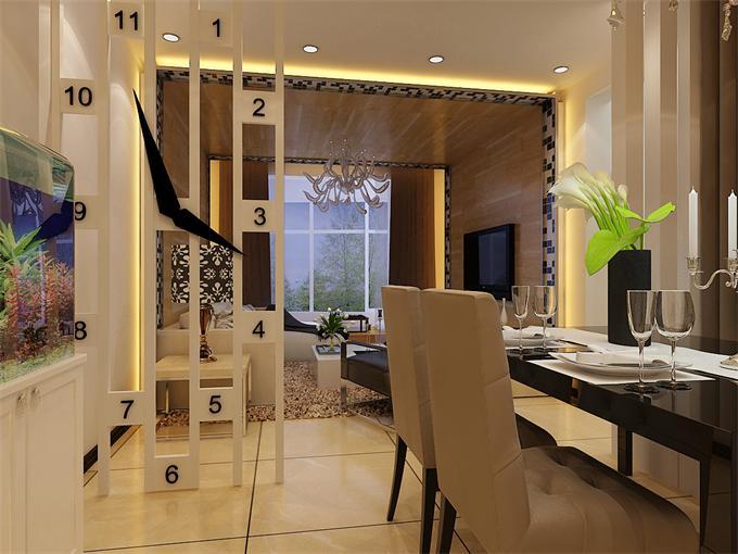 城南都市家园130平米现代风格