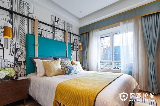 美观文艺卧室装修效果图
