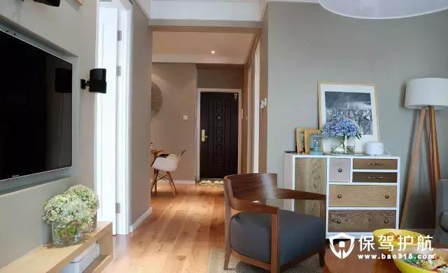 70平两居室北欧风格装修效果图