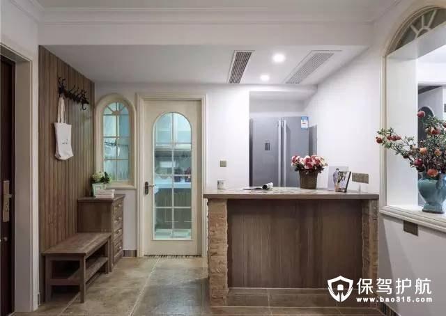 敞亮美式风格客厅装修效果图