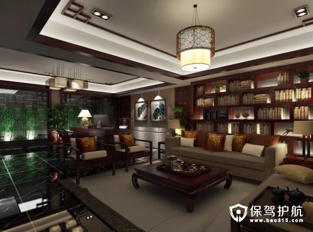 中式客厅装修效果图赏析