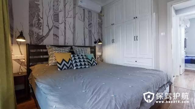 8款北欧风格卧室背景墙装修效果图