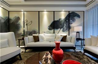 现代中式风格的设计,也称新中式风格