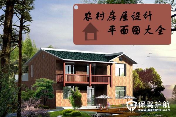农村房屋设计平面设计效果图