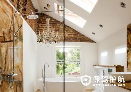 如何用大理石瓷砖装饰卫生间
