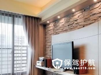 黑白配的客厅装修什么颜色背景墙