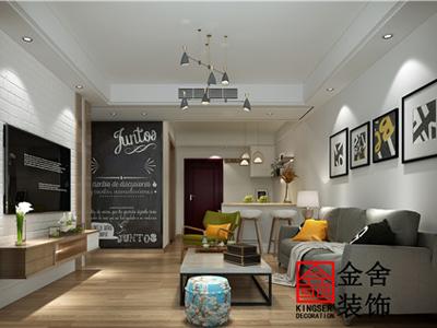 石家庄【保利拉菲公馆】98平米现代风格装修