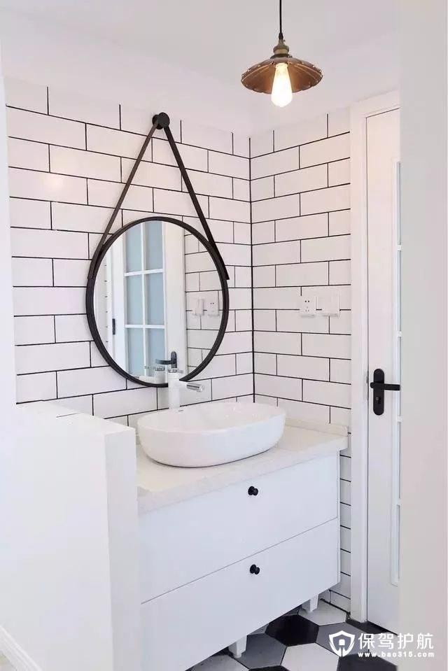 宜家风格浴室装修效果图