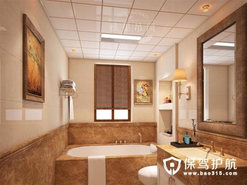 卫生间铝扣板吊顶装修效果图