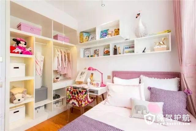 粉嫩儿童房装修效果图