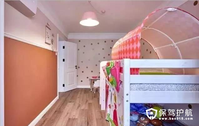活泼粉色公主房装修效果图
