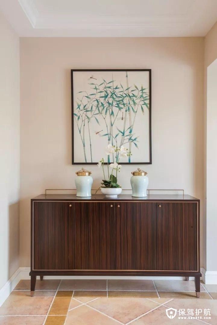 148㎡三室两厅新古典风格装修效果图