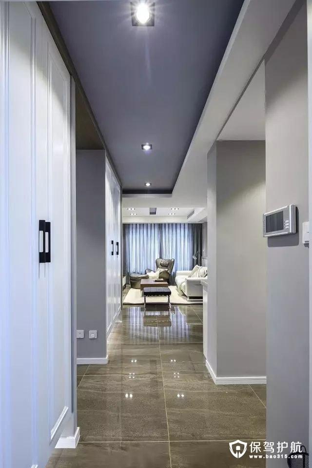 120㎡现代简约新房三居室装修效果图