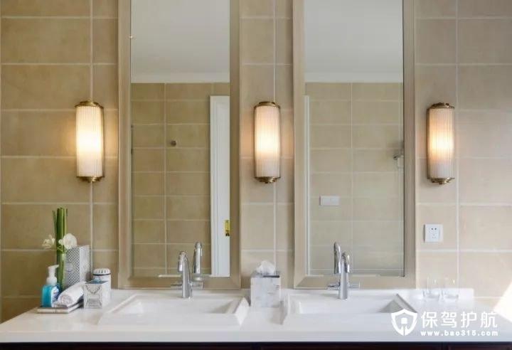 温馨浪漫新古典风格卫生间装修效果图