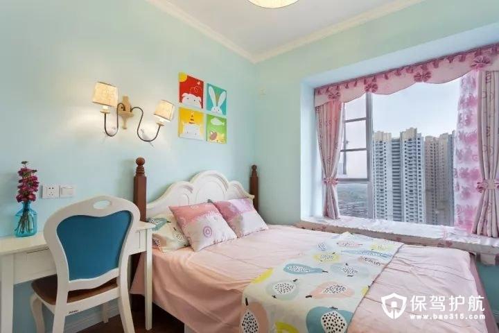 童趣梦幻美式风格儿童房装修效果图