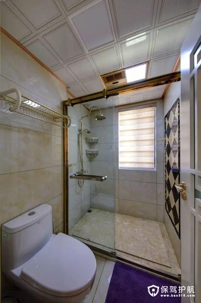 现代奢华新中式风格卫生间装修效果图