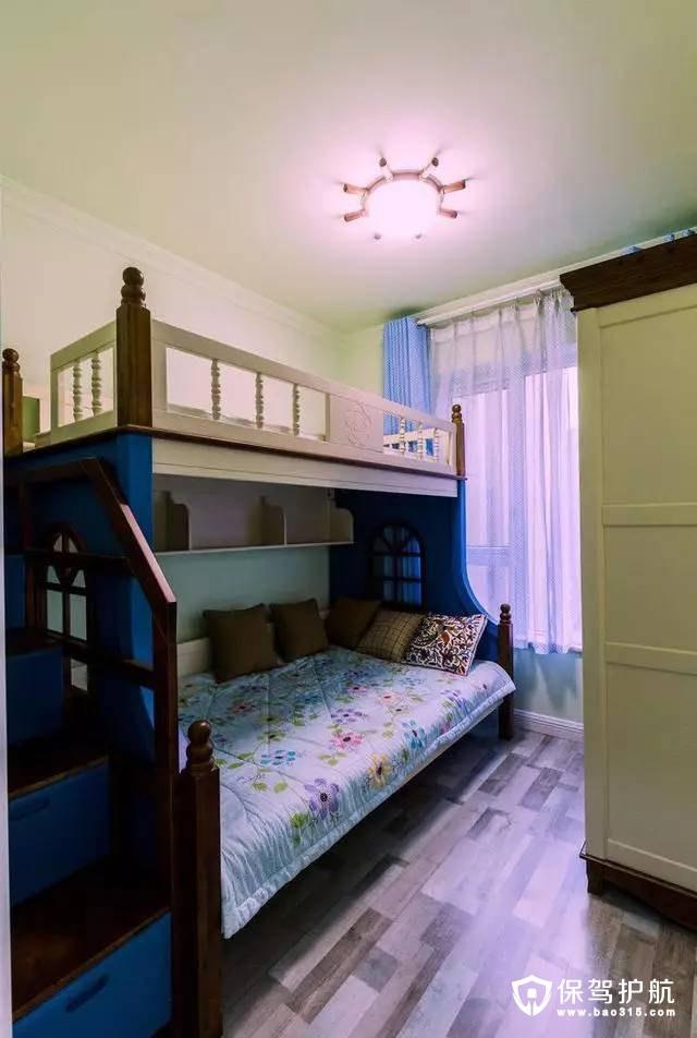 实用简单地中海风格儿童房装修效果图