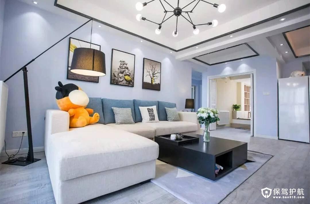 富有层次感简约风格客厅装修效果图