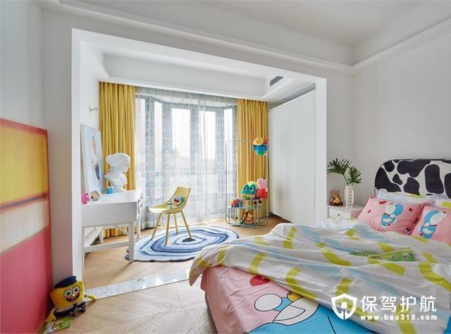 多彩现代儿童房装修效果图