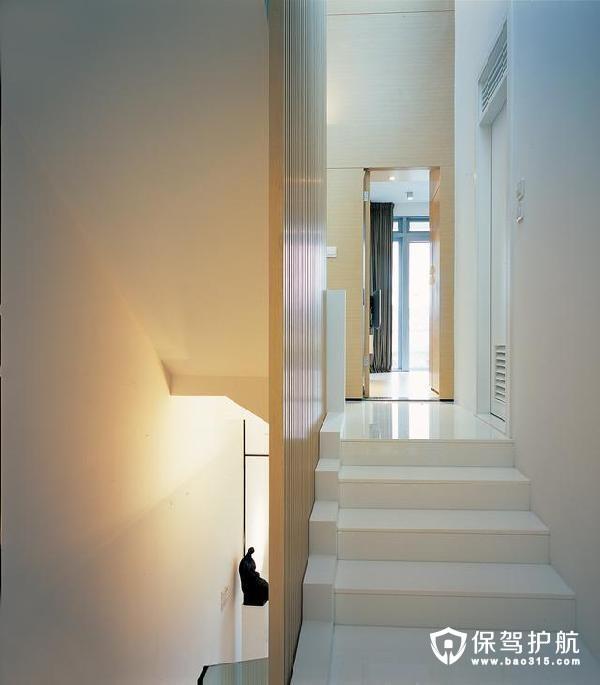 温润静怡现代简约风格楼梯
