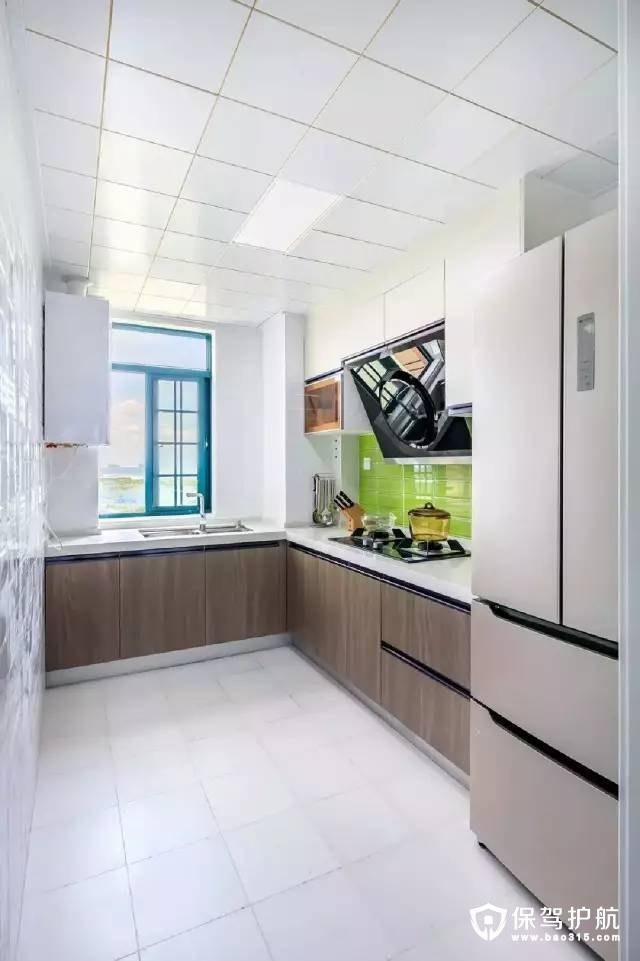 清新整洁北欧风格厨房装修效果图