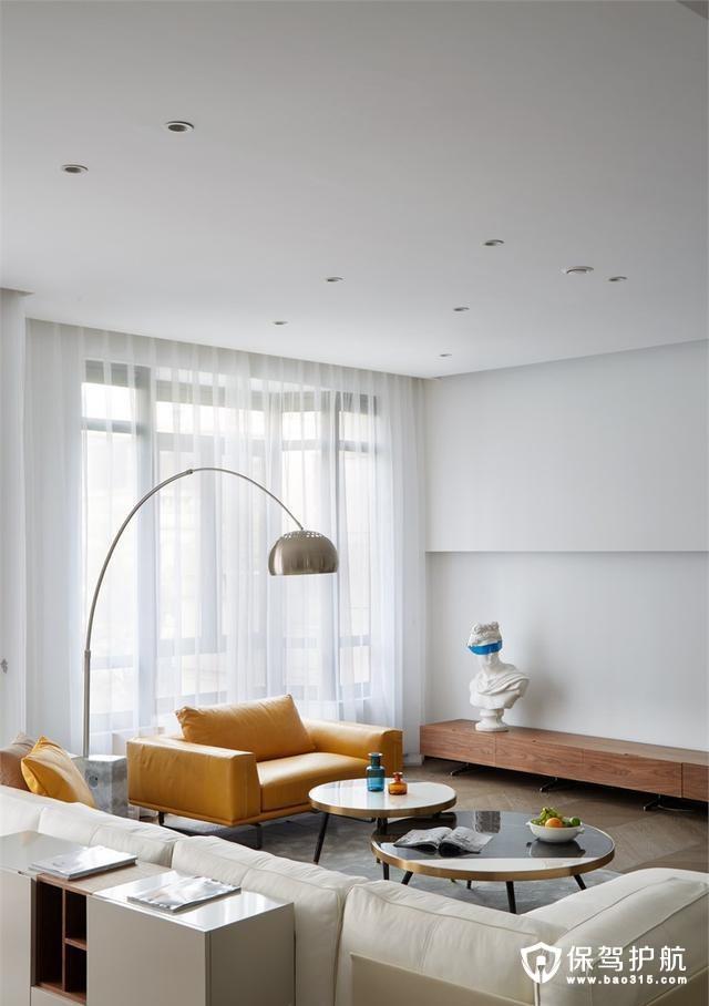 特色现代风格客厅装修效果图