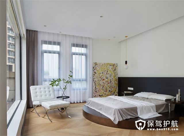 舒适简单现代风格卧室装修效果图