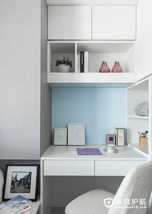 宜家风格卧室书房装修效果图