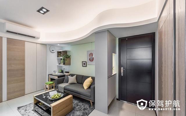 67平温馨小两居室装修效果图