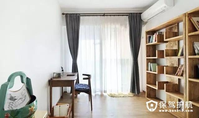 素色北欧风格书房装修效果图
