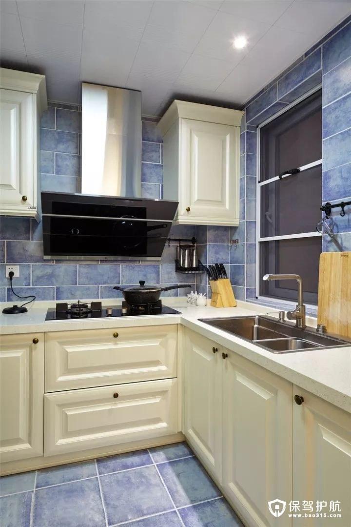 精致现代混搭风格厨房装修效果图