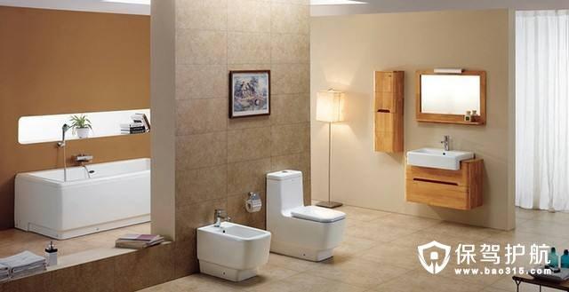 卫浴施工需要注意哪些问题?