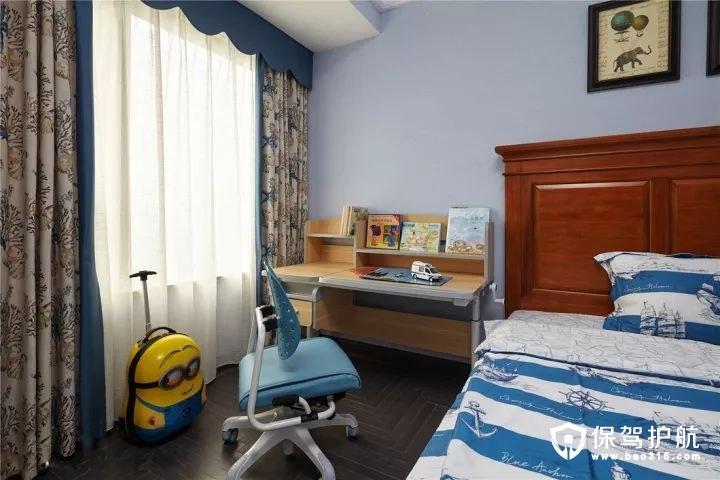 可爱有趣混搭风格儿童房装修效果图