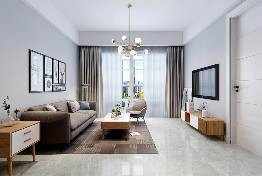 北欧风格小三房,清新时尚,兼具实用性的好设计!