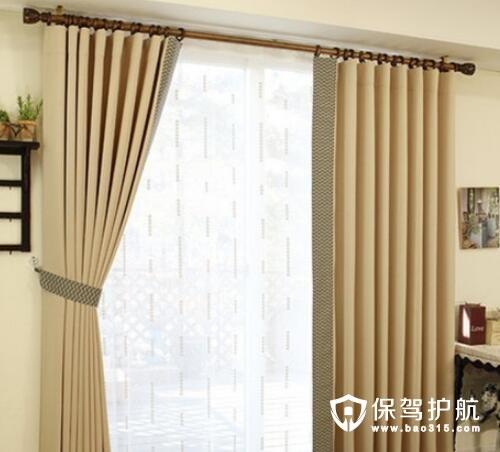 简约风格搭配什么窗帘