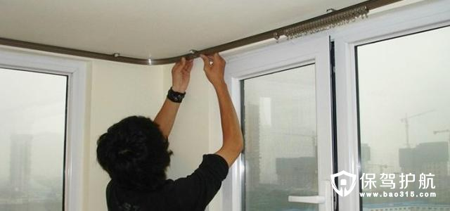 如何正确安装窗帘杆
