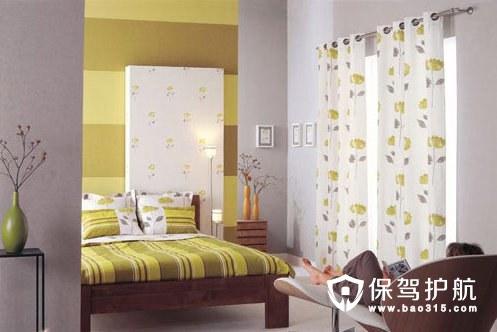 墙纸和窗帘怎么搭配