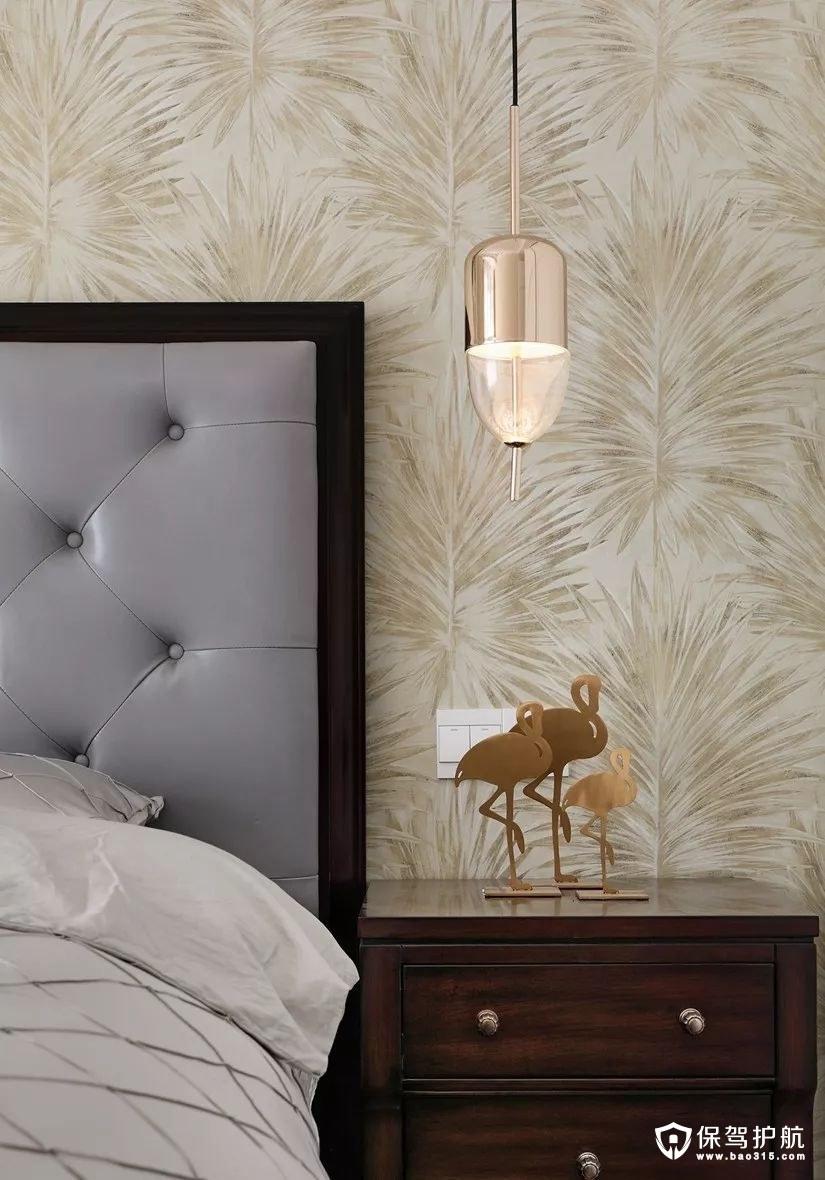 自然优雅美式风格卧室