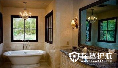 新古典风格卫浴装修效果图