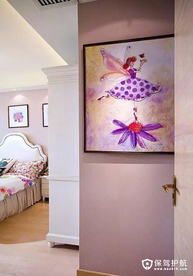 温馨浪漫艺术感卧室装修效果图